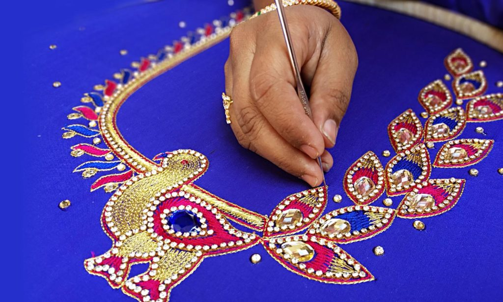 Aari Work Or Maggam Work Know More About The Finest Work In India
