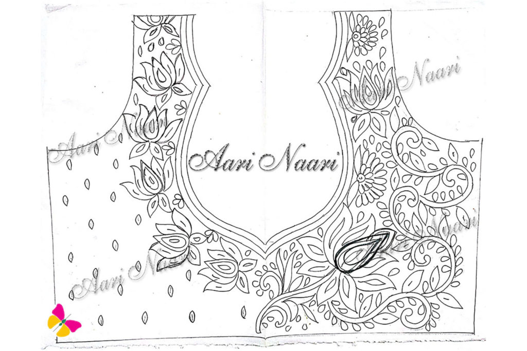 aari-Lotus-design3-tracing-free-download