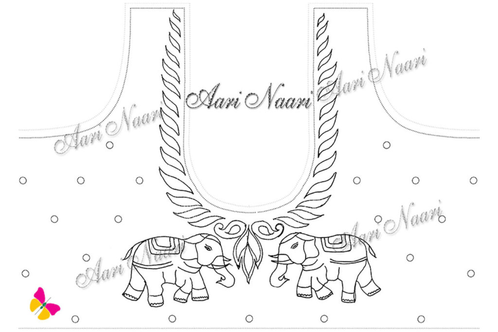 elephant-design-aari-work-tracing-paper-free-download
